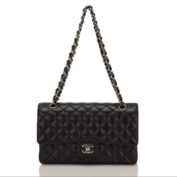 4037ffc51d1d CHANEL Bags | Auth 2015 Classic Shw Caviar Double Flap | Poshmark